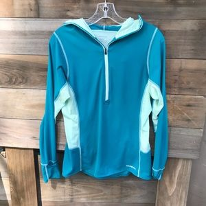 NWOT!!! Patagonia lightweight half zip hoodie.